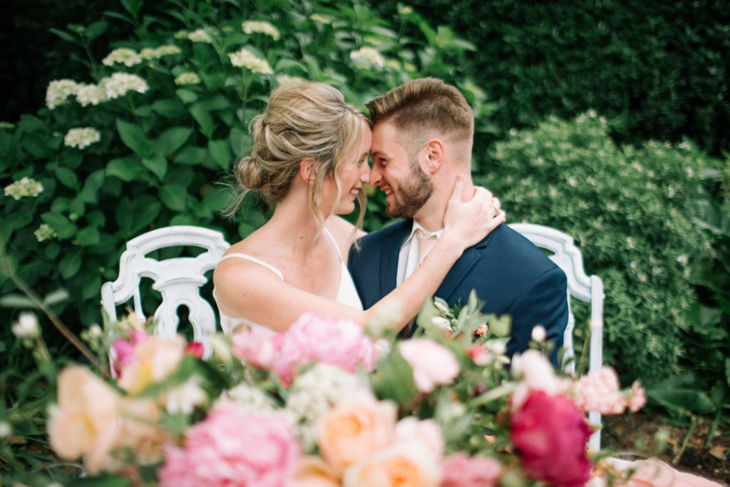 Colorful Garden Wedding Inspo